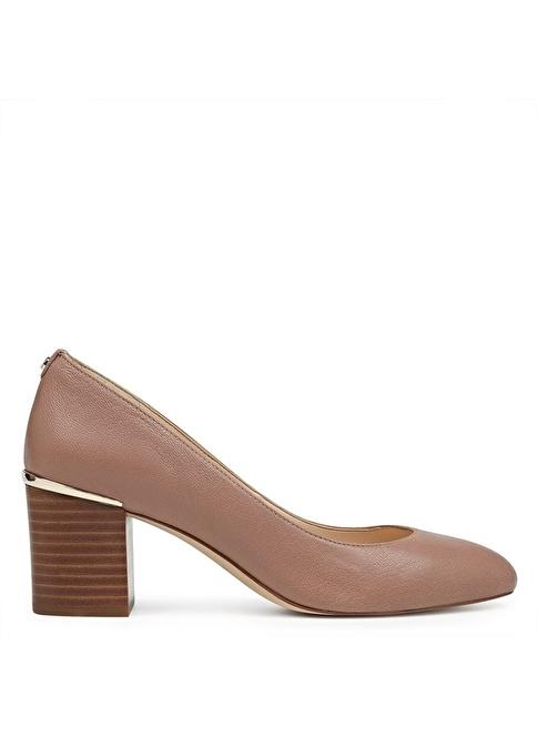 Nine West Kalın Topuklu Ayakkabı Ten